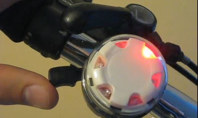 Incredibell Disco Bell - A Bicycle Bell That Lights Up! Bicycle Touring Pro Bicycle Touring Pro